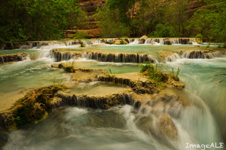 Havasupai Falls.